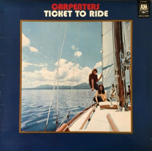 Carpenters - Ticket To Ride (LP) (G/G++)